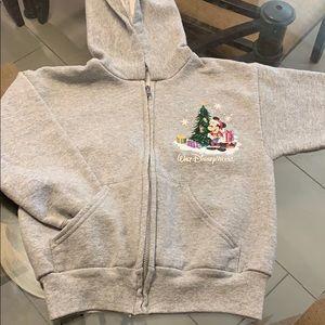 Kids Disney Holiday Zip up hoodie